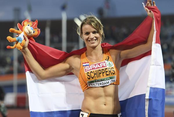 Dafne Schippers, holandesa especialista en pruebas de velocidad.