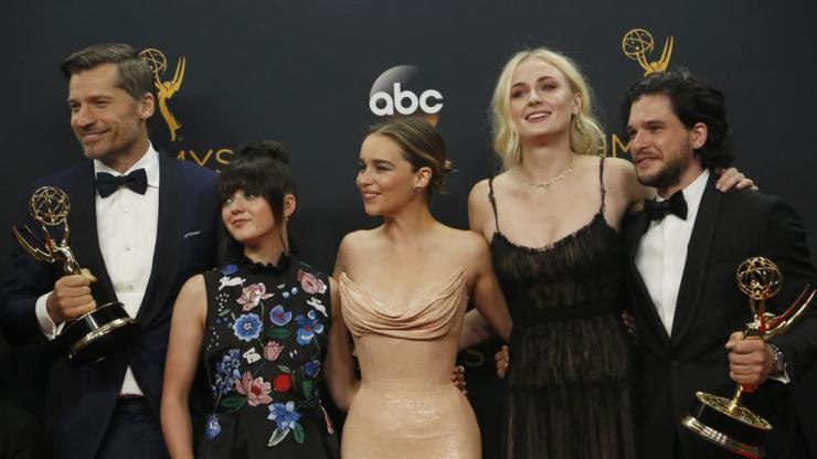 Los actores de 'Juego de tronos' no ganaron ningún premio pero sienten los de la serie como suyos. Reuters.
