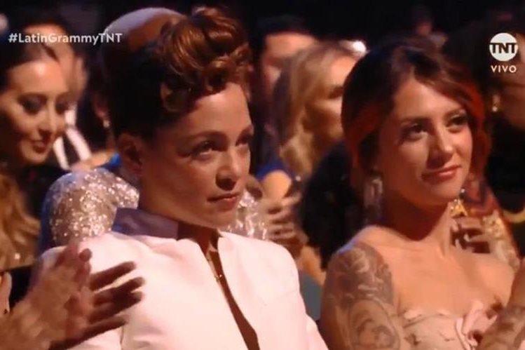 Grammy Latino: Natalia Lafourcade y su gesto por el triunfo de Maluma