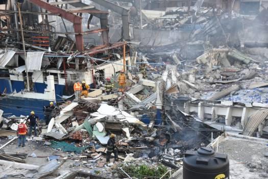 COE cree no hay más desaparecidos por explosión en Villas Agrícolas
