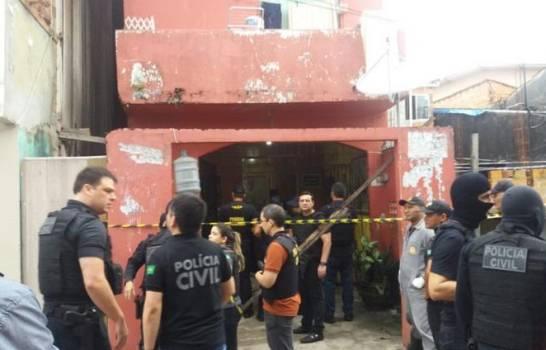 Matan 11 durante masacre en un bar en Brasil