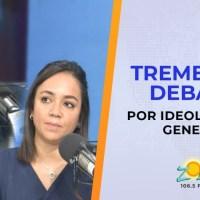 VIDEO: Tema de ideología de género enfrenta a Agustin Laje y diputada Faride Raful