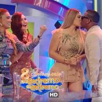 VIDEO: El beso en TV de Sandra Berrocal y Crazy Design ¿reconciliación?