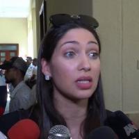 Esposa de Octavio Dotel explica cómo llegaron militares a su casa para allanamiento