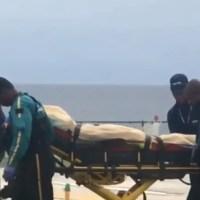 VIDEO: Trasladan en helicóptero a Rochy RD a clínica de la capital
