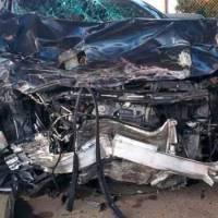 El estado de los demás involucrados en el grave accidente de tránsito de Rochy RD