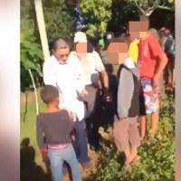 Senador Amable Aristy reparte dinero en Higüey a horas de las elecciones