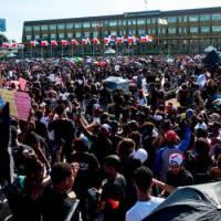 Tras 'Trabucazo 2020', miles se quedaron en la Plaza de la Bandera para protestar