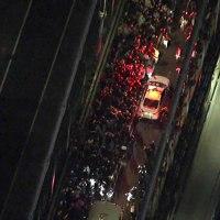 Manifestantes quedan atrapados en el puente de Manhattan, la Policía los esperaba a los dos lados