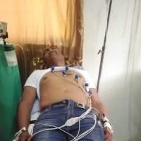 Diputado Botello afectado por bomba lacrimógena durante protesta por 30% AFP