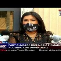 Fary Almánzar asegura no ha firmado ningún acuerdo con David Ortiz