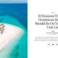 Vogue británica hace reportaje sobre atractivos turísticos de RD