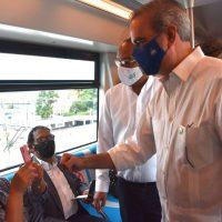 Abinader anuncia 3ra línea del Metro SD que llegará hasta el AILA