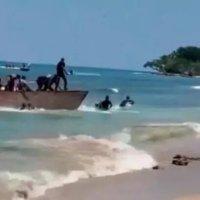 """Corran, corran"", así recibieron a dominicanos que llegaron ilegalmente a Puerto Rico"