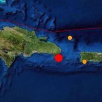 Se registra un temblor magnitud 5.1 en el Este de RD