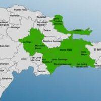 Nueve provincias de RD en alerta por efectos tormenta Peter