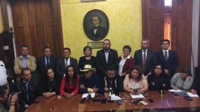 Morena, PT e independientes conforman alianza legislativa