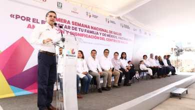 Tras 20 años, se dignifica Centro de Salud de Ario de Rosales