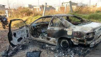 Incendian en Ciudad Jardín un vehículo robado