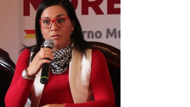 Guari Ivette García Medina, titular de la Coordinación del Centro Histórico de Morelia