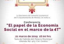 Impulsará Morelia el sector social de la economía