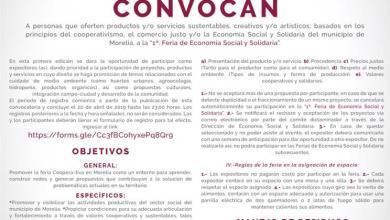 Primera Feria de Economía Social y Solidaria de Morelia