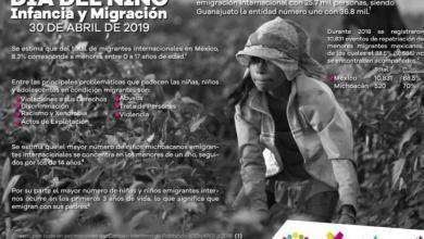 Presenta Coespo infancia y migración en el marco del Día del Niño