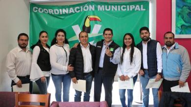 Refuerza Partido Verde su estructura en Michoacán