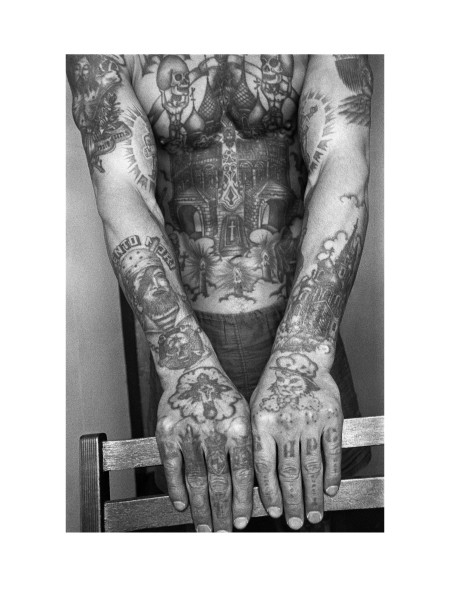 1993 Tattoo Designs : tattoo, designs, Print, Sergei, Vasiliev, Photographs, Russian, Criminal, Tattoo, Archive