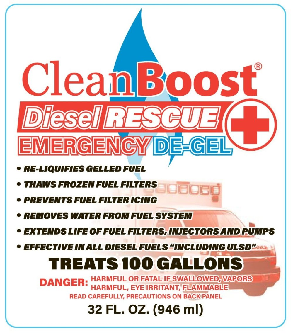 medium resolution of cleanboost diesel rescue emergency de gel is a great product that looks after your truck fuel system in more ways than one