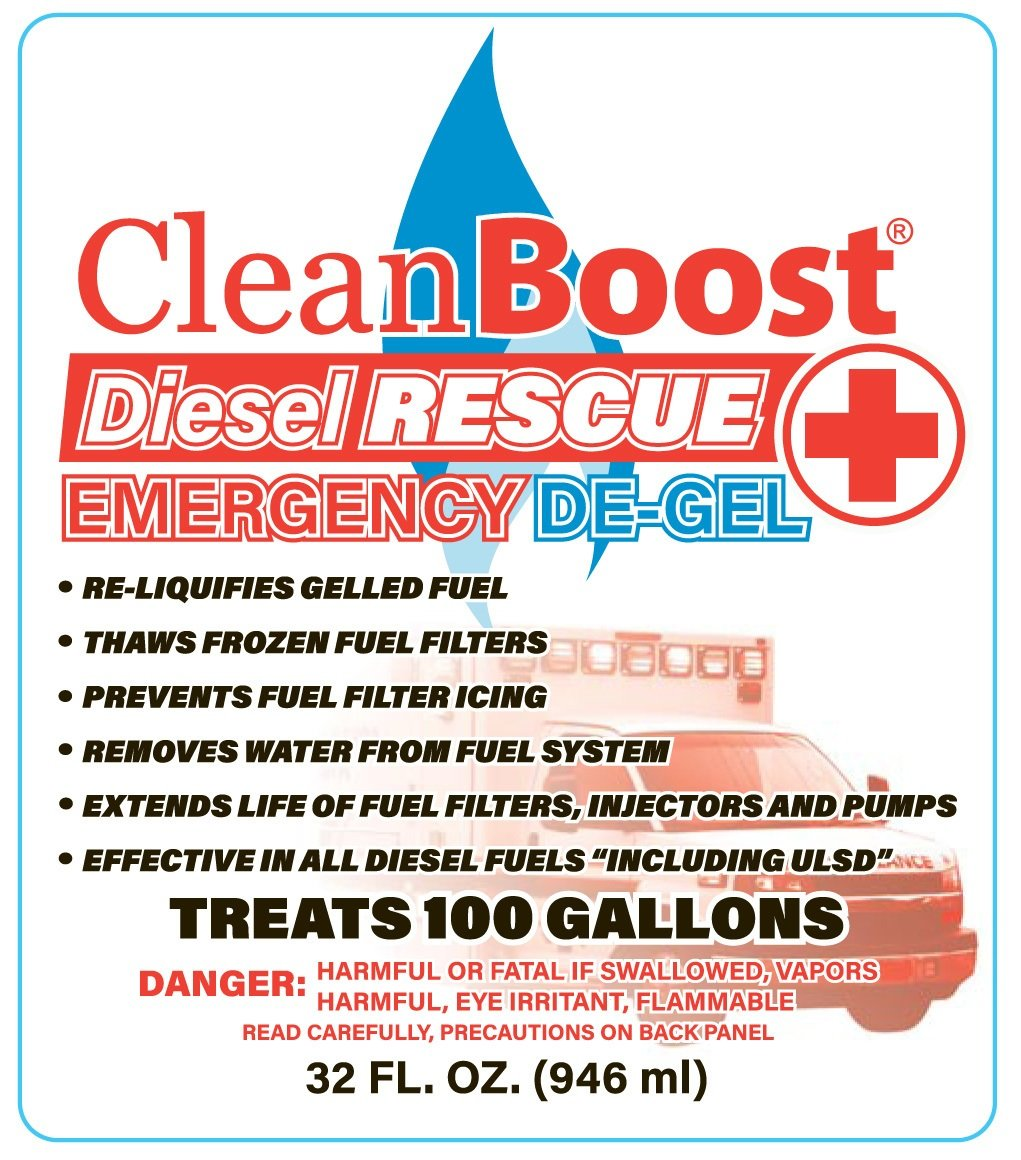hight resolution of cleanboost diesel rescue emergency de gel is a great product that looks after your truck fuel system in more ways than one