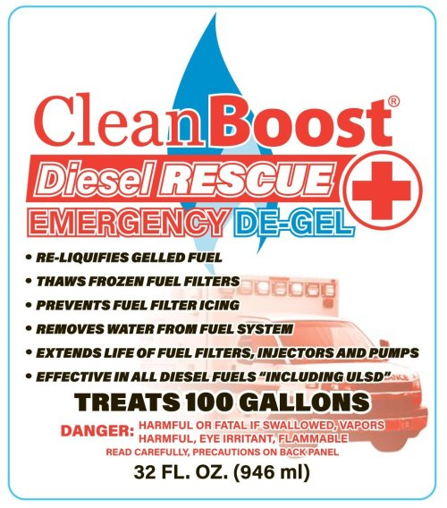 small resolution of cleanboost diesel rescue emergency de gel is a great product that looks after your truck fuel system in more ways than one