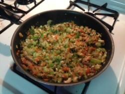 sauted veggies