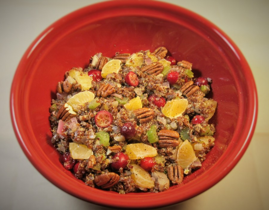 Cranberry Orange Pecan Stuffing