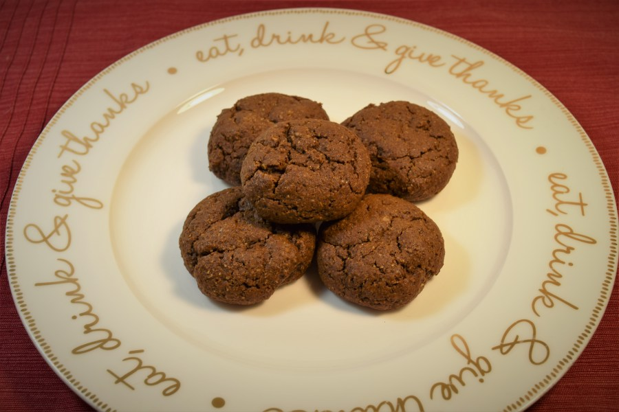 Gingerbread Molasses Cookies
