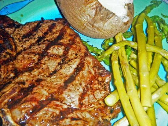 dinner steak