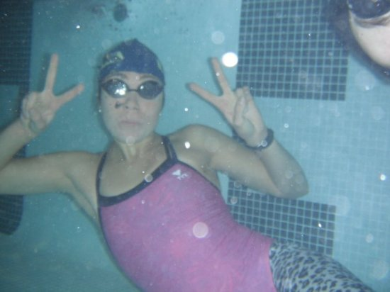 Aren't I cute under water?
