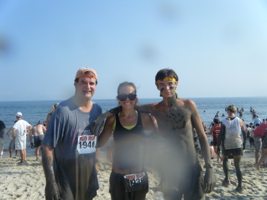 Super throwback of 5 years ago to a mud run we did