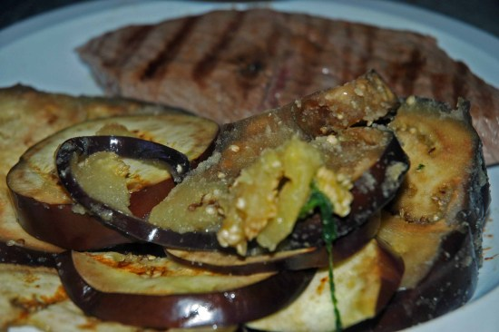 Eggplant sauteed in oil and garlic is the easiest and most deliscious vegeatble