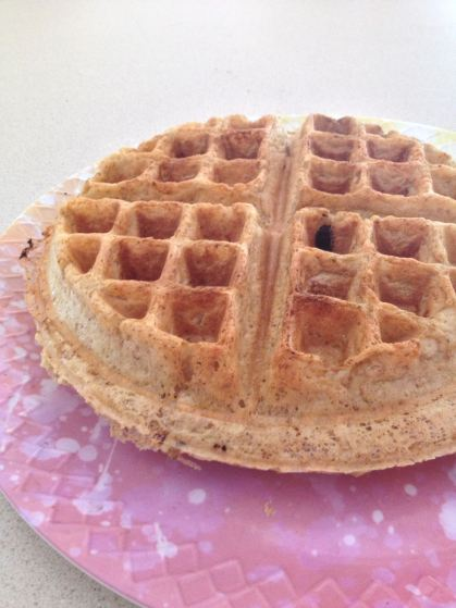 This is a plain waffle