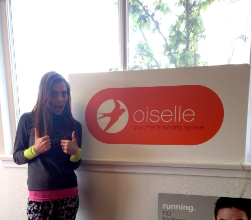 Visiting oiselle HQ 2 years ago