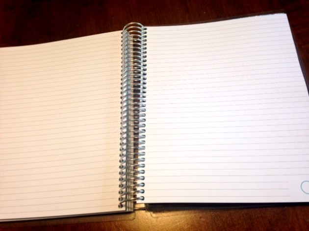So much space for note taking.