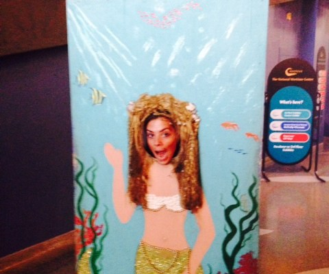 Because who doesn't want to be a mermaid...