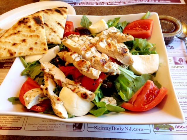 Golden Dawn Diner Salad
