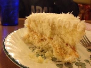 Smyrna Diner Coconut Cake