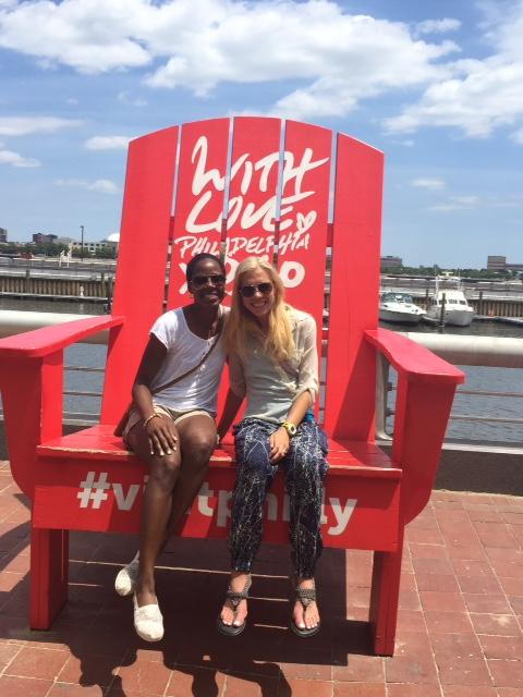 Philadelphia Anita and I