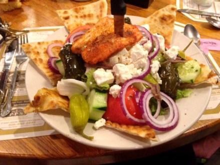 Lamp Post Diner Salad