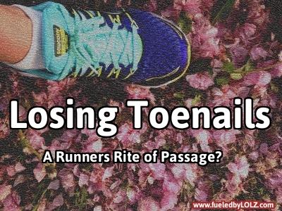 Running Losing Toenails