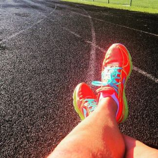 Right now the track is still out of my comfort zone