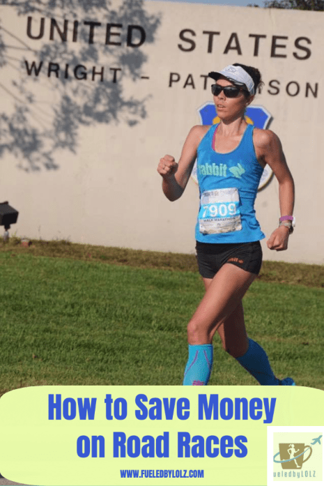 How to save money on road races